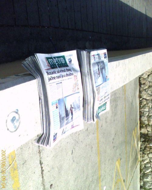Zidne novine