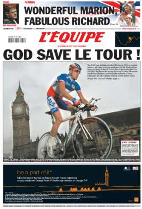 God Save Le Tour